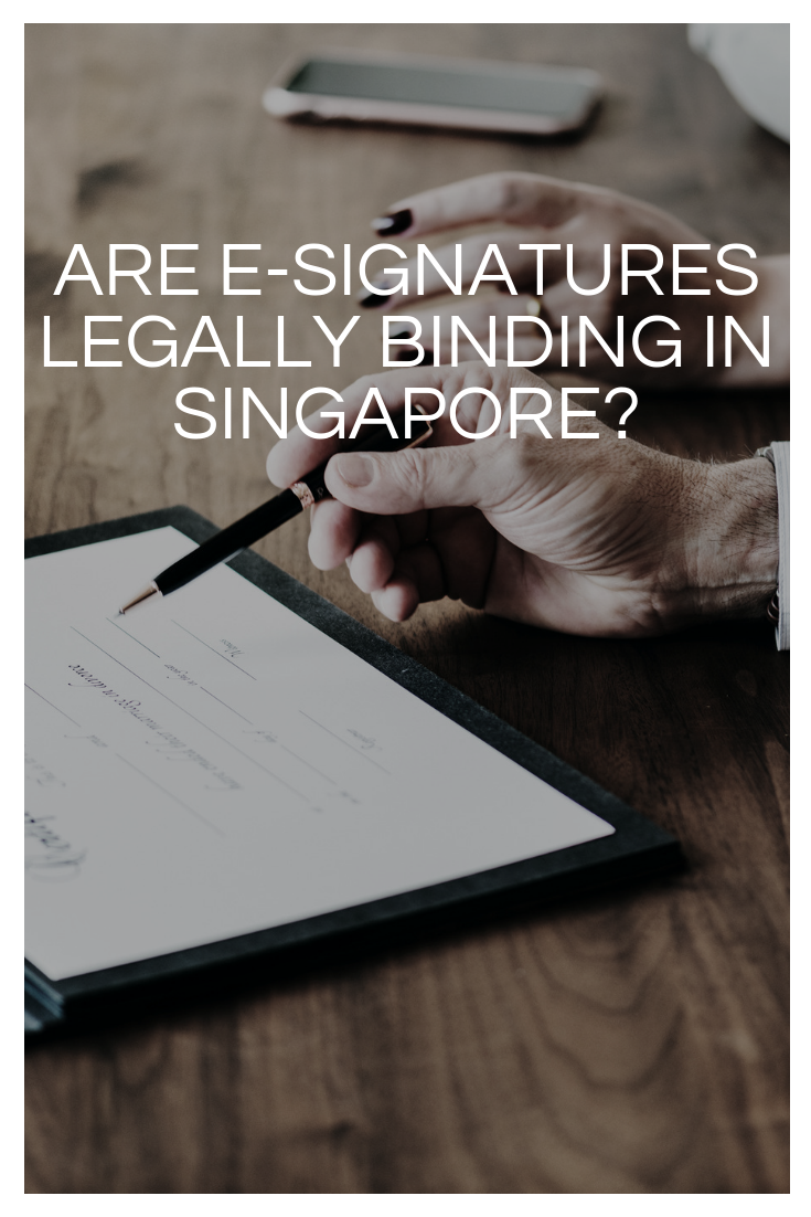 Are e-signatures legally binding?