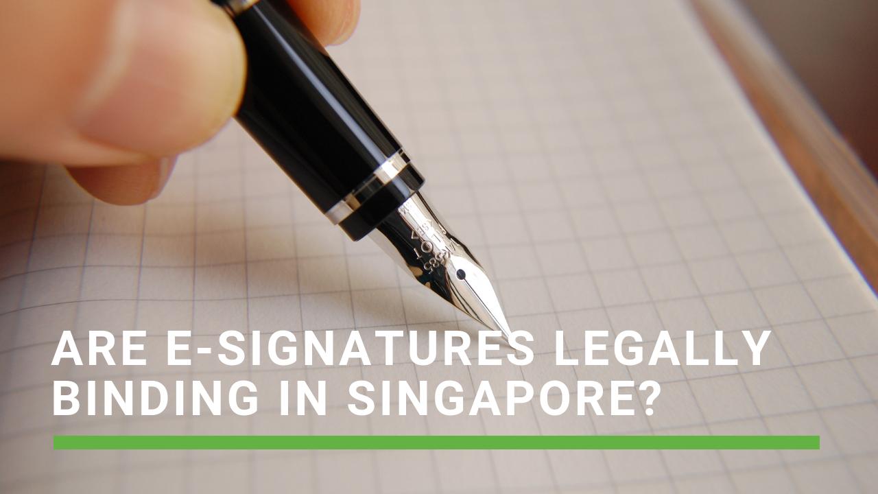 e-signature singapore